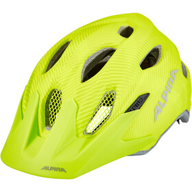 Alpina Carapax Flash Helm Jugend be visible
